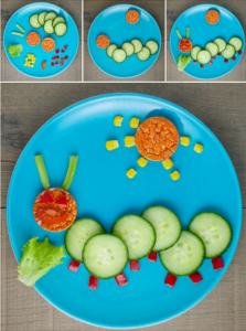 fussy toddler food art
