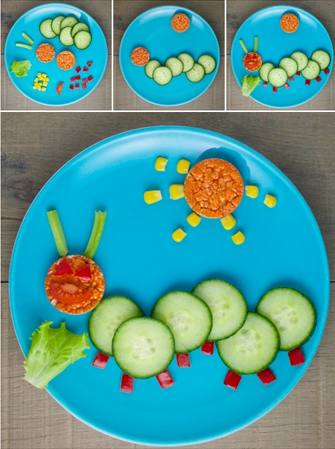 toddler food art